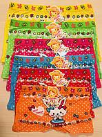 Трусики-шортики детские для девочек хлопок KOKOWEI размер 5-12 лет
