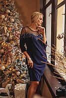 Красивое вечернее платье с люрексом с 50 по 56 размеры 135a94e5652b0