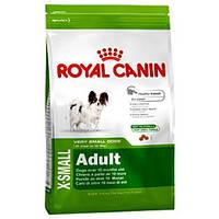 Сухой корм для  миниатюрных собак от 10 месяцев Роял Канин X-Small. 1,5кг