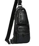 Кожаная мужская сумка через плечо Jeep 777 Bag, фото 2