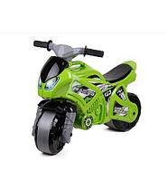 Мотоцикл детский двухколесный.Игрушечная каталка мотоцикл.Мотоцикл каталка для детей.