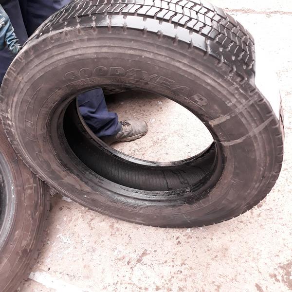 Грузовые шины б.у. / резина бу 215.75.r17.5 Goodyear Regional RHD2 Гудиер