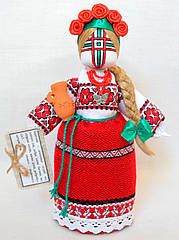 Кукла-мотанка КЛЮЙ Берегиня Катерина 25см Разноцветная K0027KA, КОД: 182782