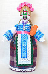 Кукла-мотанка КЛЮЙ Берегиня Ульяна 25см Разноцветная K0032UL, КОД: 182783
