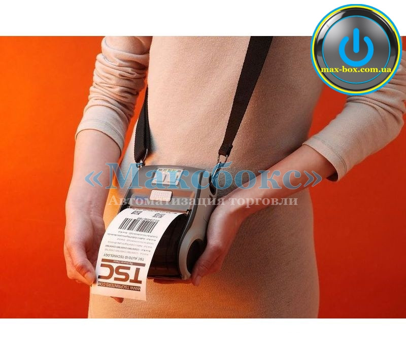 Принтер друку етикетки мобільний USB ALPHA - 3R TSC
