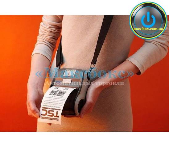 Принтер печати этикетки мобильный USB ALPHA - 3R TSC