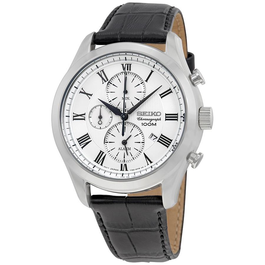 Часы Seiko SNAF69P1 хронограф Quartz 7T62