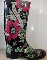 Женская обувь. Модные цветные силиконовые сапоги