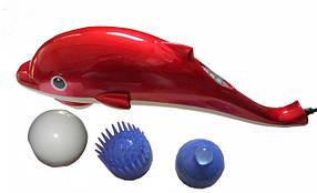 Ручной массажер для тела Дельфин маленький 15 см, вибромассажер для похудения, массажер для шеи. PR1, фото 2