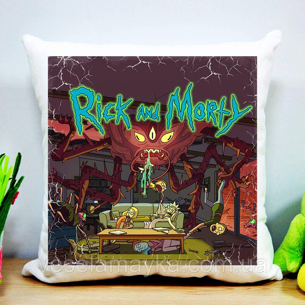 Подушка Рик и Морти 9 (Rick and Morty)