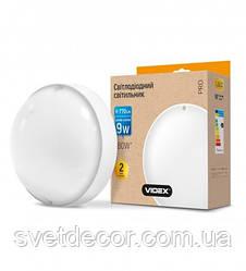 Светодиодный светильник для подъезда и других помещений ЖКХ VIDEX 9W IP65 Круглый Белый