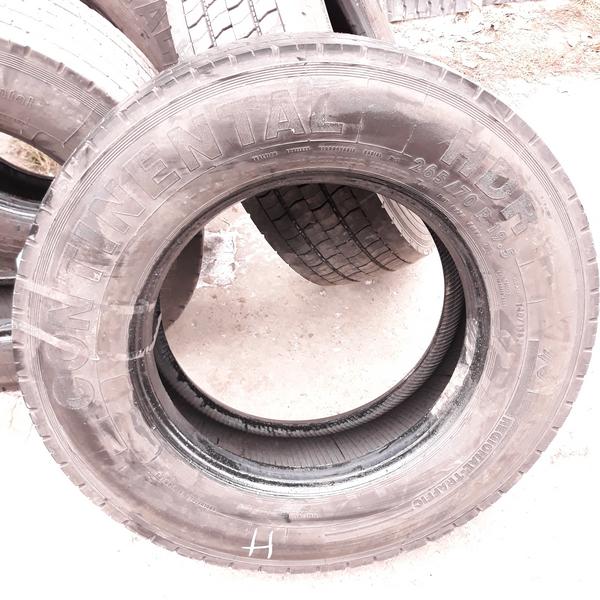 Шины б.у. 265.70.r19.5 Continental HDR Континенталь. Резина бу для грузовиков и автобусов