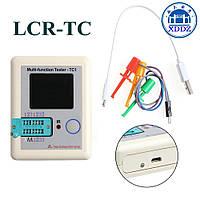 LCR-TC1 Тестер электронных компонентов радиодеталей, транзисторов LCR ESR метр, транзистор тестер