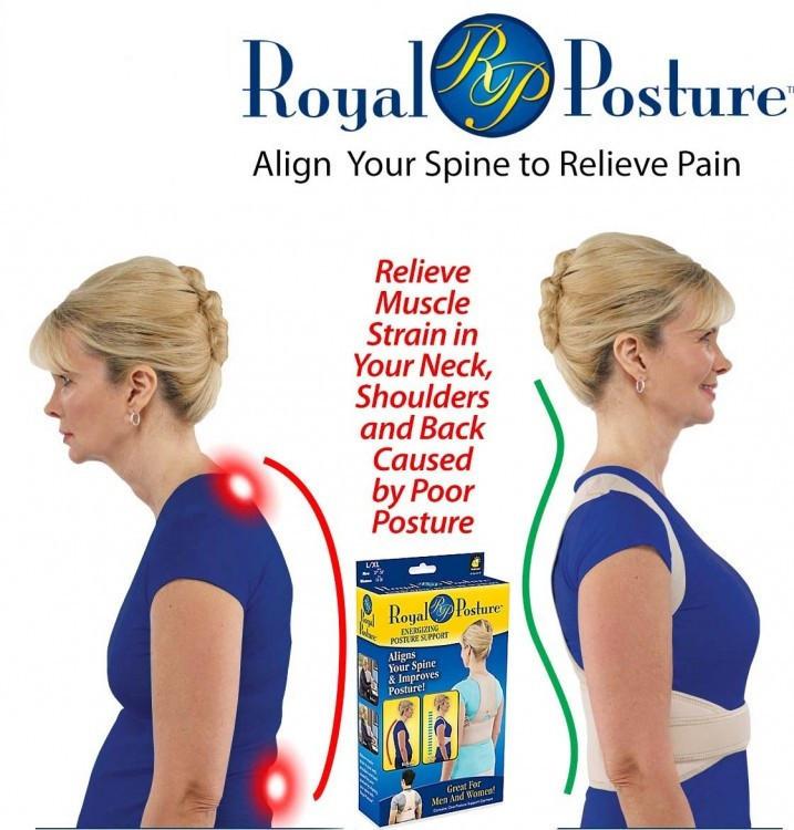 Коректор постави Royal Posture Energizing Posture Support