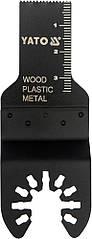 Пила-насадка YATO BIM заглиблююча для реноватора, 40 х 20 мм YT-34686