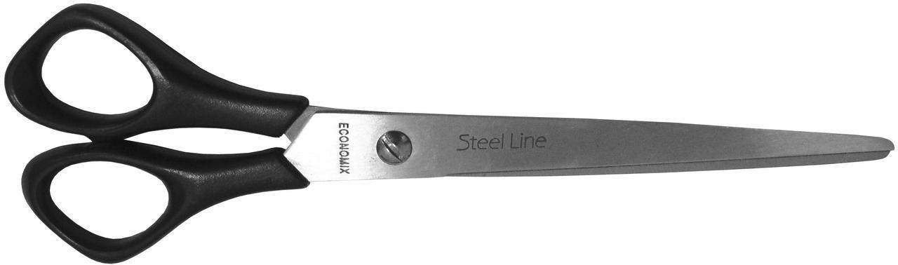 Ножиці 18 см Economix, пласт. ручки