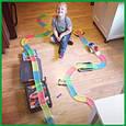 Magic Tracks 360+ деталей гнущий светящийся трек, Меджик трек гоночная трасса, конструктор - подарок для детей, фото 3