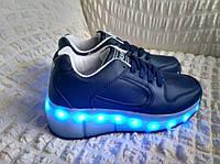 5667e3979bc8 Роликовые кроссовки ролики с LED подсветкой USB хилисы кеды светящиеся