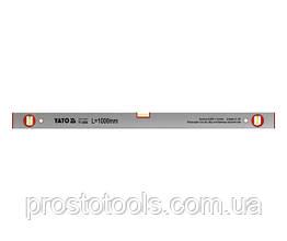 Уровень алюминиевый YATO 100 см YT-3004