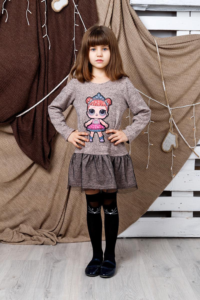 Платье детское LOL сетка