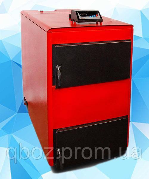 Твердотопливный котел длительного горения Проскуров АОТВ- 50 с вентилятором.