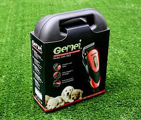 Профессиональная машинка для стрижки животных Gemei -1023 PR4, фото 2