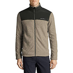 Кофта Eddie Bauer Men Radiator Pro Full-Zip Fleece Cardigan TAUPE HTR M Бежевая 7083TP-M, КОД: 271056