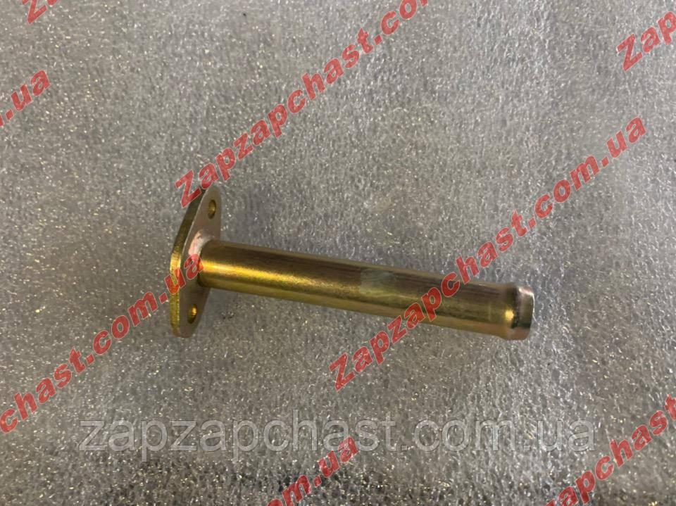Трубка печки короткая прямая Ваз 2121 нива, производство Харьков