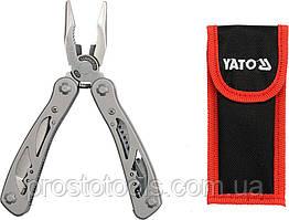 Щипцы многофункциональные YATO с 9 сложенными инструментами YT-76043