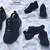 Мужские зимние термо кроссовки, ботинки MERRELL vibram