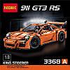 Конструктор DECOOL 3368A TECHNIC -  Porsche 911 GT3 RS (2728 дет.)