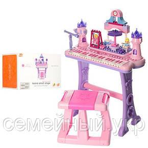Детский синтезатор. Микрофон. Звуковые эффекты. Функция записи/воспроизведения. Bambi Princess (88037), фото 2