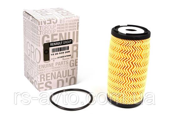 Фильтр масляный Renault Trafic, Рено Трафик , Master, Opel Vivaro 2.0DCI 06-, 2.3dCi 10- 152093920R, фото 2