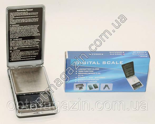 Ваги ювелірні електронні 200г Digital Scale, фото 2