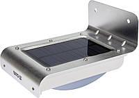 Світильник вуличний YATO сонячний акумулятор.-3.7 В 900мАг з датчиком руху-3 м світл. P=120 lm YT-81855