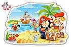 Пазл Castorland 2 в 1 Пираты 010 tsi24415, КОД: 287731, фото 3