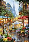 Пазл Castorland Улочки Парижа Spring flowers Paris 1000 элементов С-103669 tsi44640, КОД: 287834, фото 2