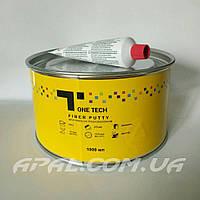 1T Шпатлевка со стекловолокном FIBER PUTTY, 1000 мл