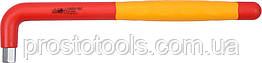 Ключ шестигранный Г-образный диэлектрический YATO HEX 12 x 60 x 260 мм VDE до 1000 В YT-21127