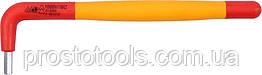 Ключ шестигранный Г-образный диэлектрический YATO HEX 4 x 40 x 140 мм VDE до 1000 В YT-21121