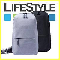 Стильный однолямочный рюкзак Xiaomi Bag 17'', фото 1