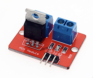 Модуль MOSFET транзистора IRF520 (силовой ключ)