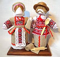Кукла-мотанка КЛЮЙ Неразлучники Оксана и Вакула 25 см Разноцветная K0005NOV, КОД: 182758