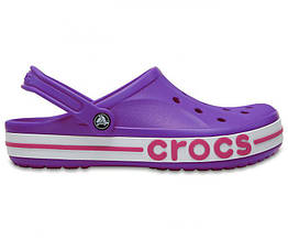 Женские сабо Crocs Bayaband Clogs Purple Pink размер W8 117133-W8, КОД: 235113