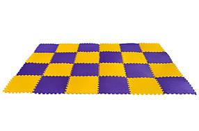 М'яка підлога - пазл SportMax для дитячої кімнати 2,9х1.9м, 24 елемента (MP-K24)