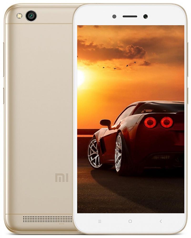 Xiaomi Redmi 5A Gold 2/16+подарки чехол и защитная пленка