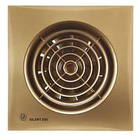 Вентилятор бытовой осевой S&P SILENT-200 CZ GOLD (230V 50)