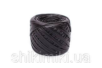 Трикотажная пряжа Maccaroni Metallic, цвет Черный