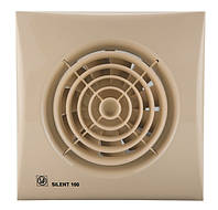 Вентилятор бытовой осевой S&P SILENT-200 CZ IVORY (230V 50)