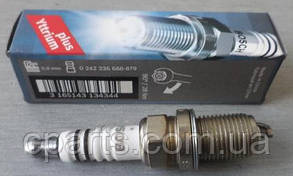 Свеча зажигания 1-контактная Dacia Sandero (Bosch 0242235666)(среднее качество)
